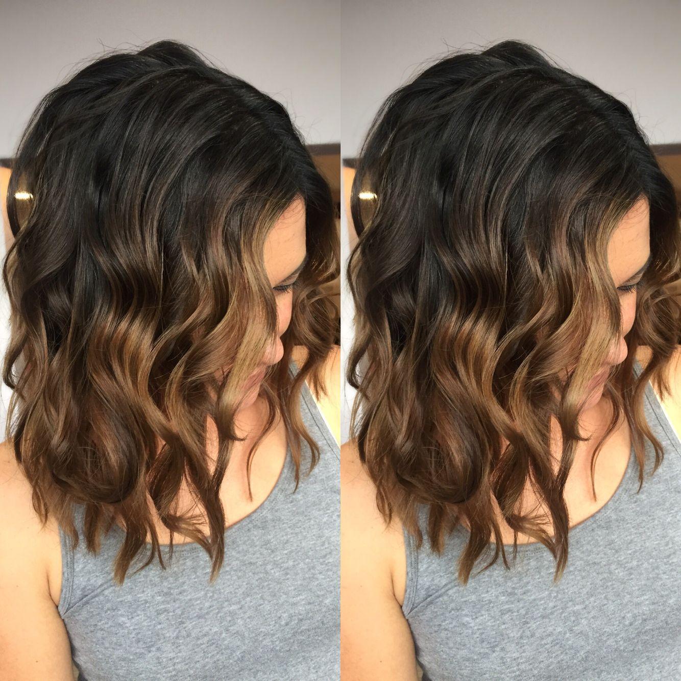 Тёмно-каштановый цвет волос фото 7