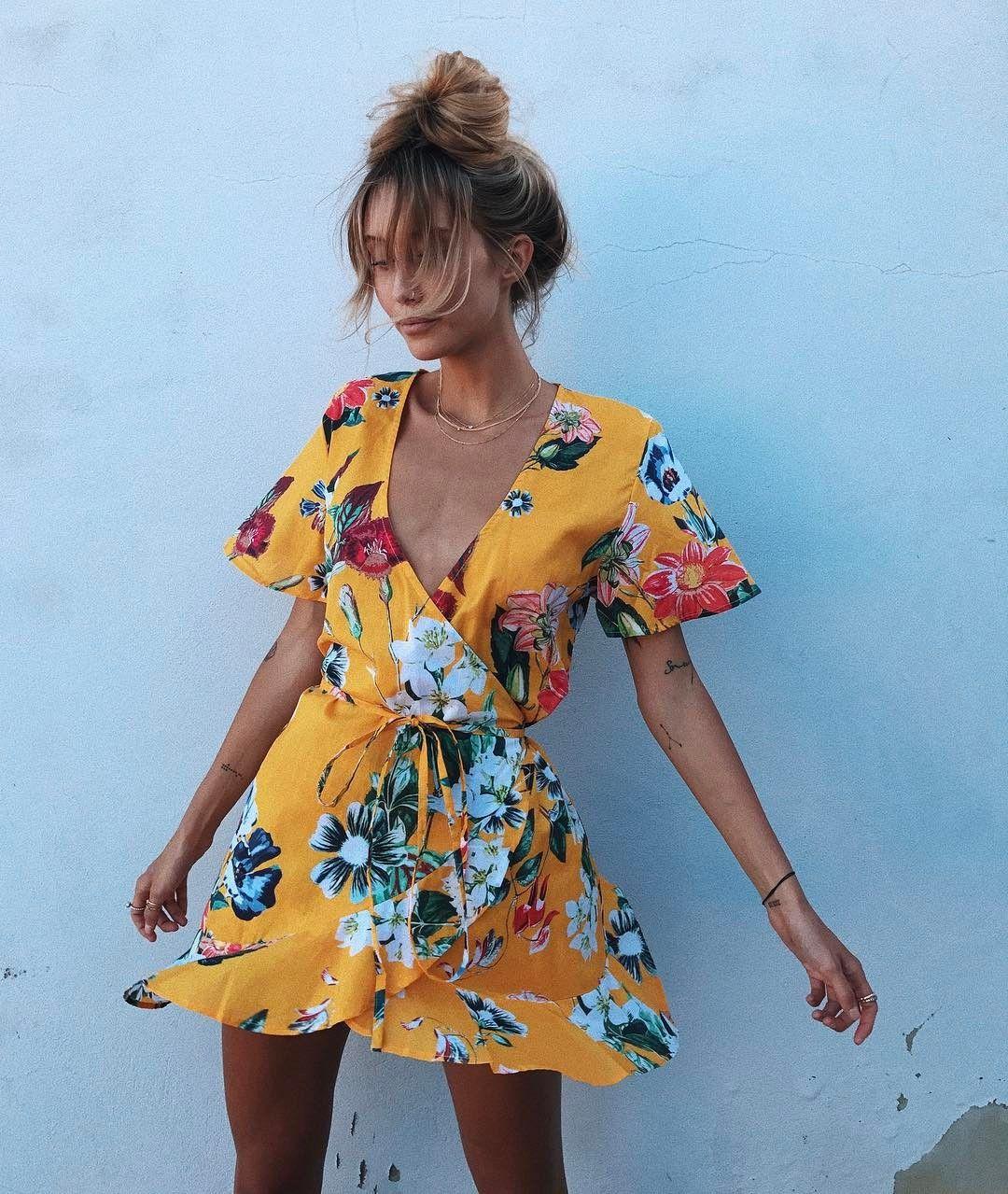 Платье с коротким рукавом фото 5