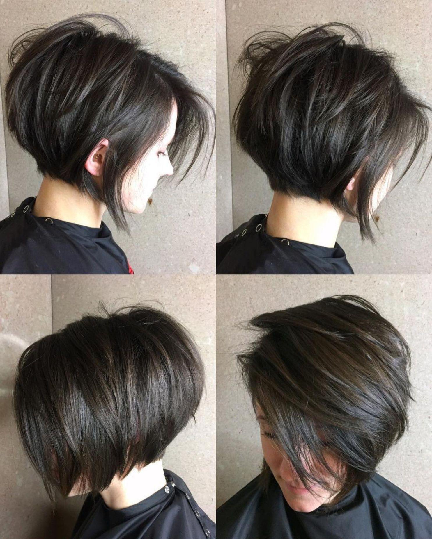 короткие стрижки для густых волос фото 7
