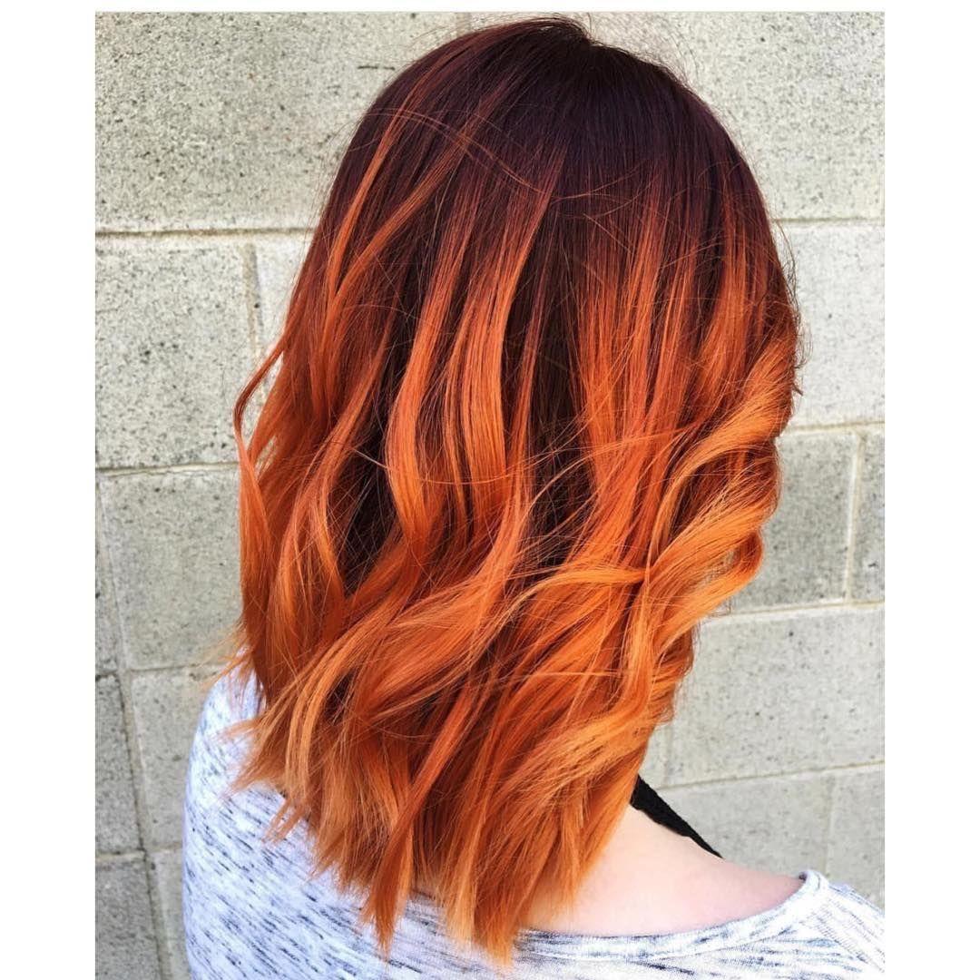 Балаяж на средние волосы: фото 6