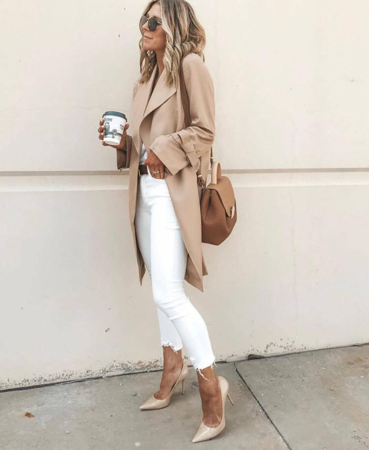 белые джинсы фото 13