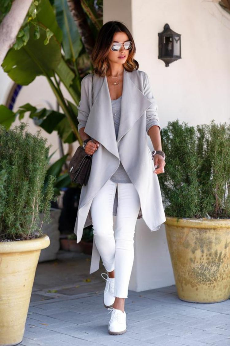 белые джинсы фото 15