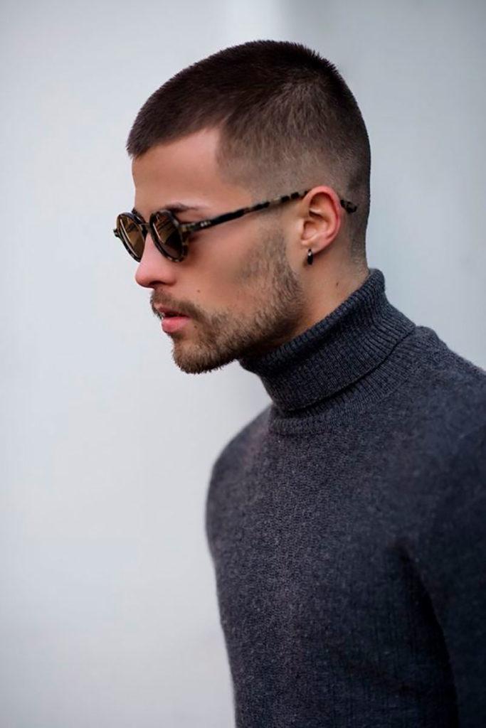 мужские прически  для редеющих волос фото 1
