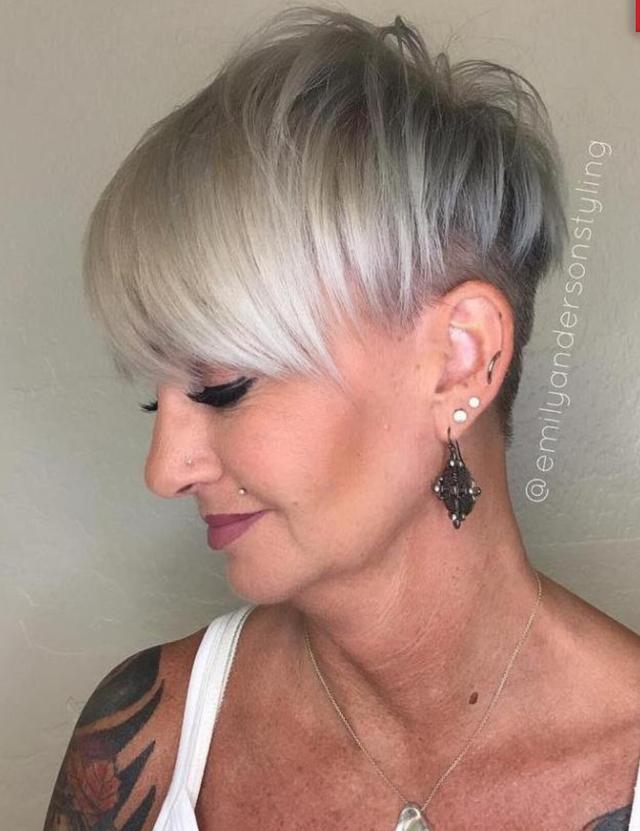 короткие стрижки для тонких волос фото 3