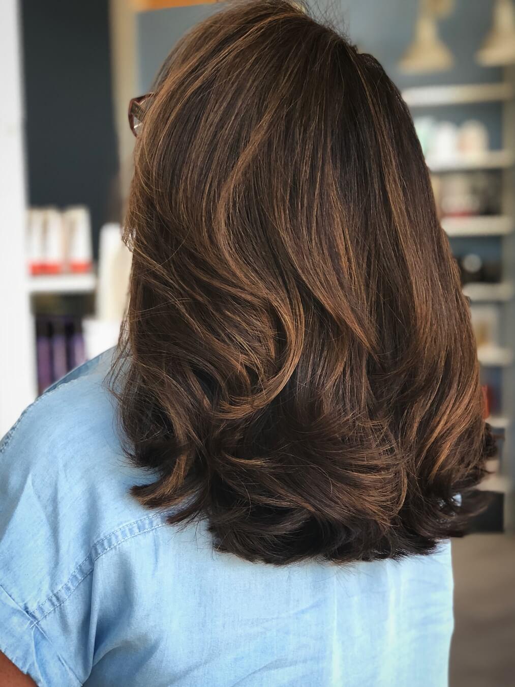 стрижки для густых волос фото 13