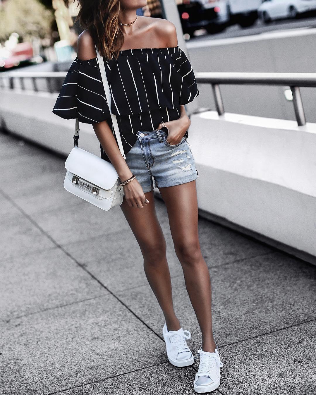 Летние джинсовые шорты 2019 фото 8
