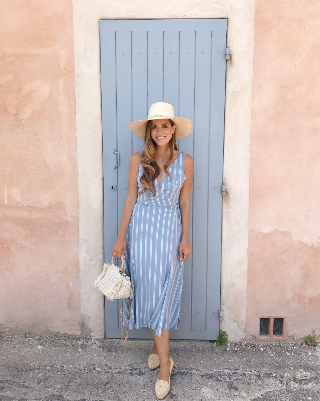 Платье в полоску фото 11