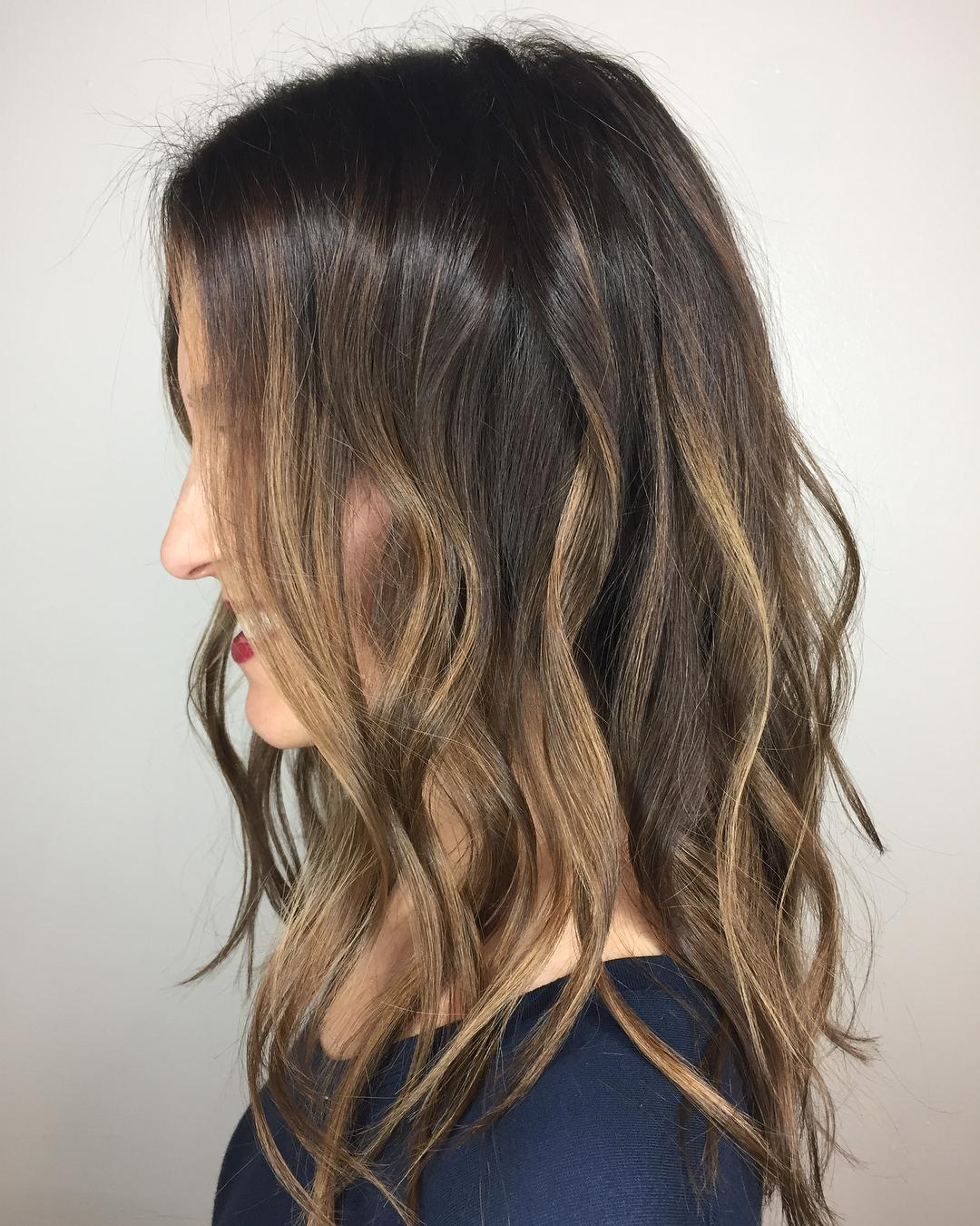 Каштановый цвет волос фото 6