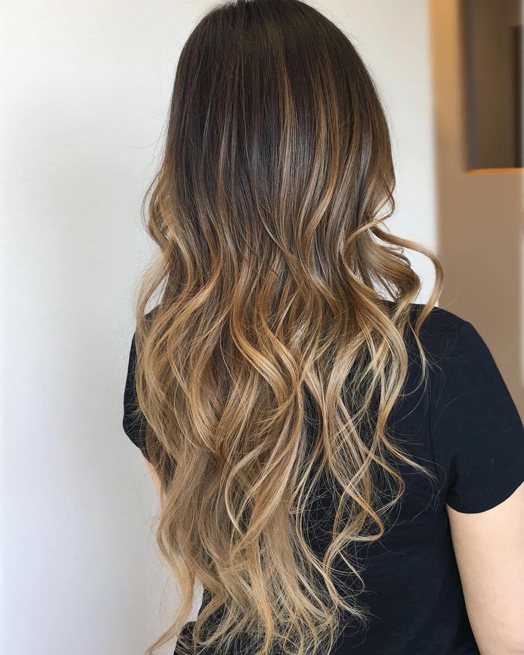 оттенки волос, популярные в 2019 фото 15