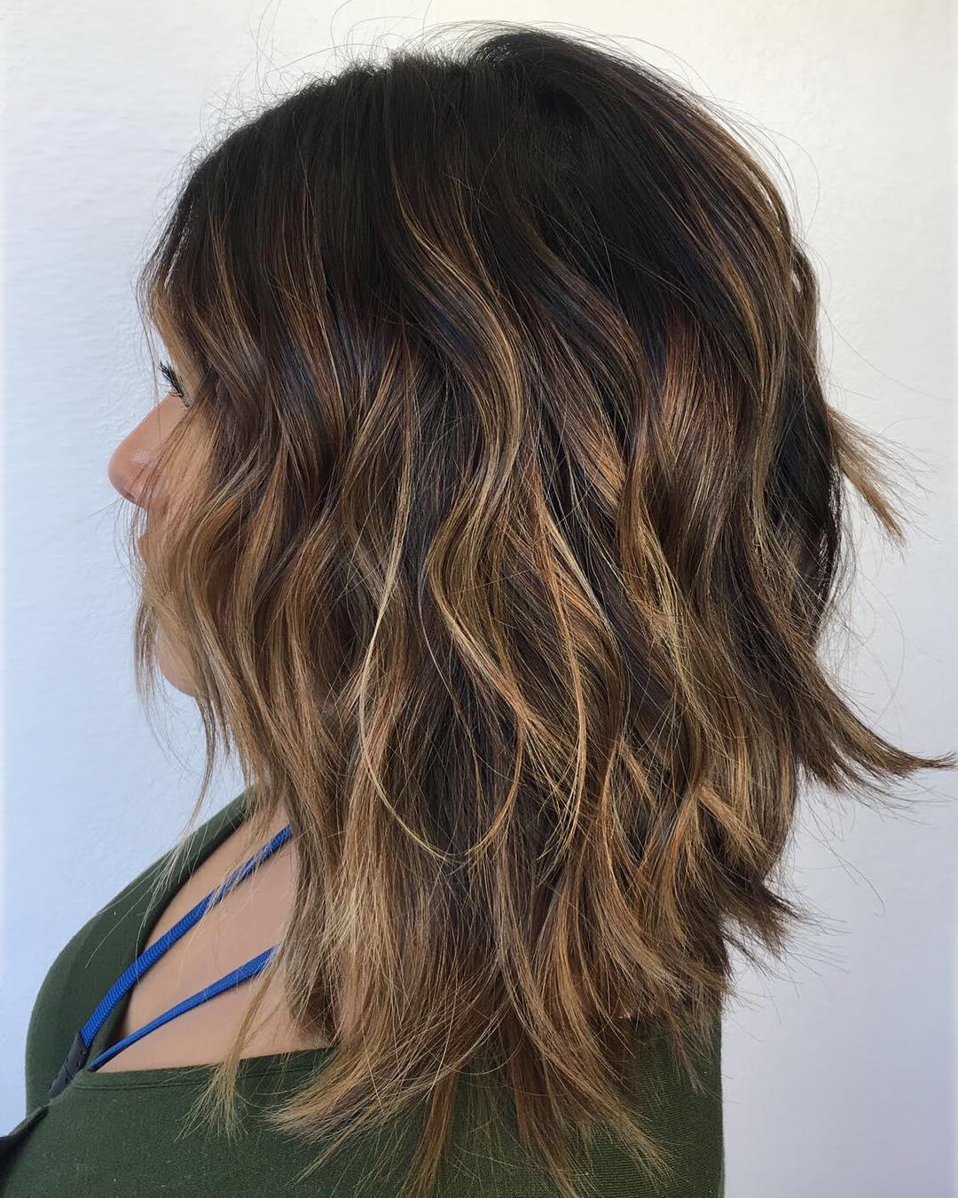 оттенки волос, популярные в 2019 фото 16