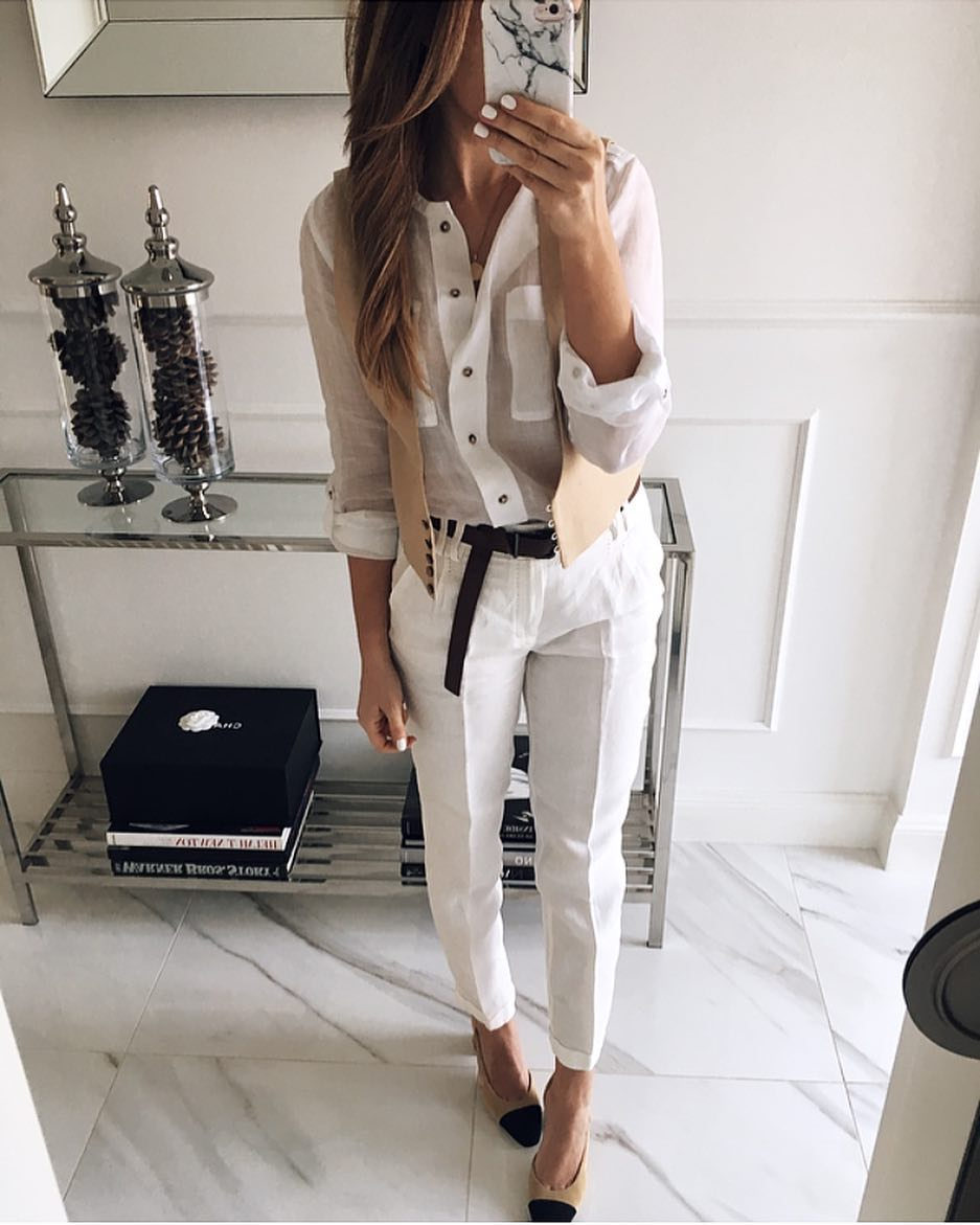 брюки с рубашкой фото 5