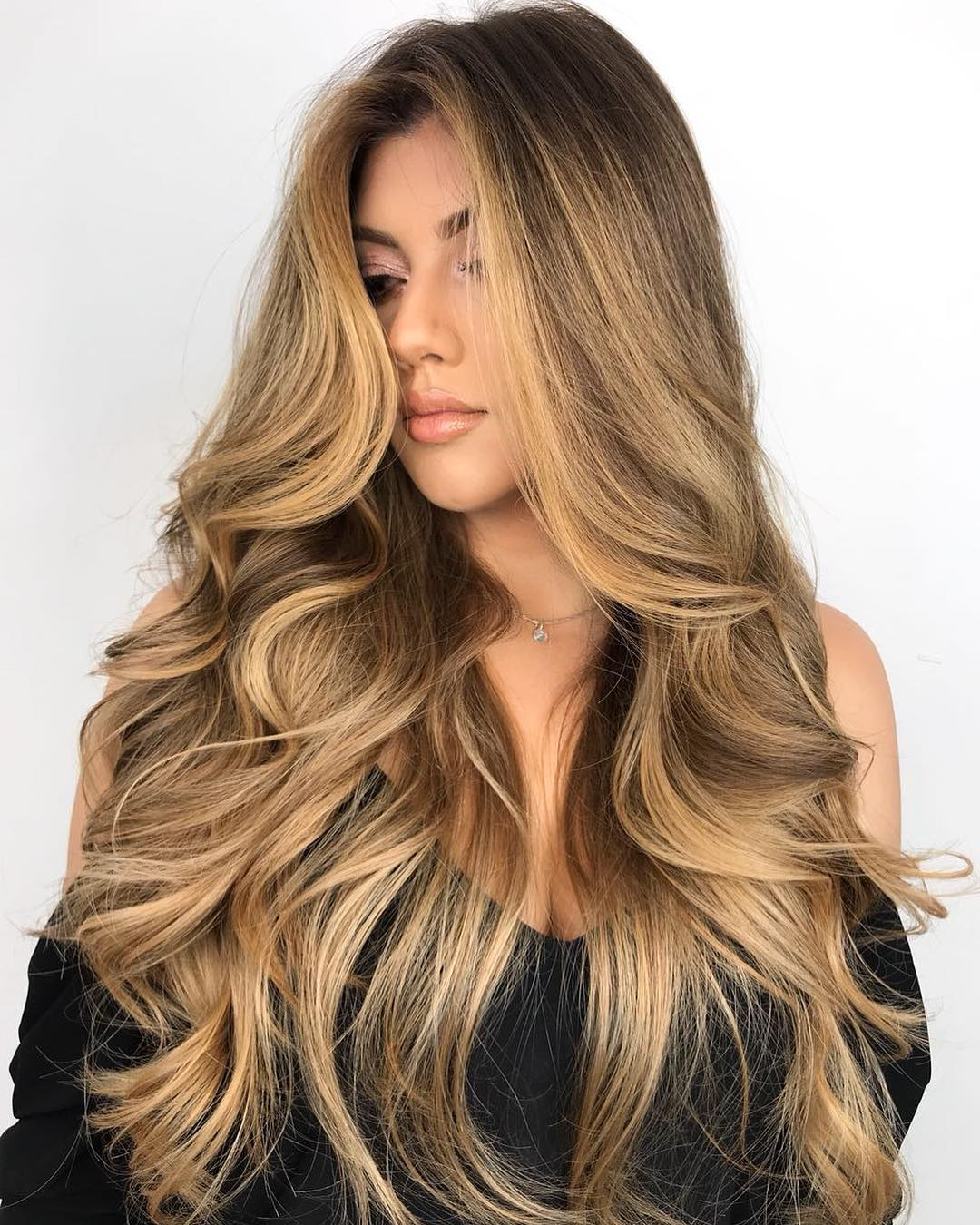 оттенки волос, популярные в 2019 фото 5