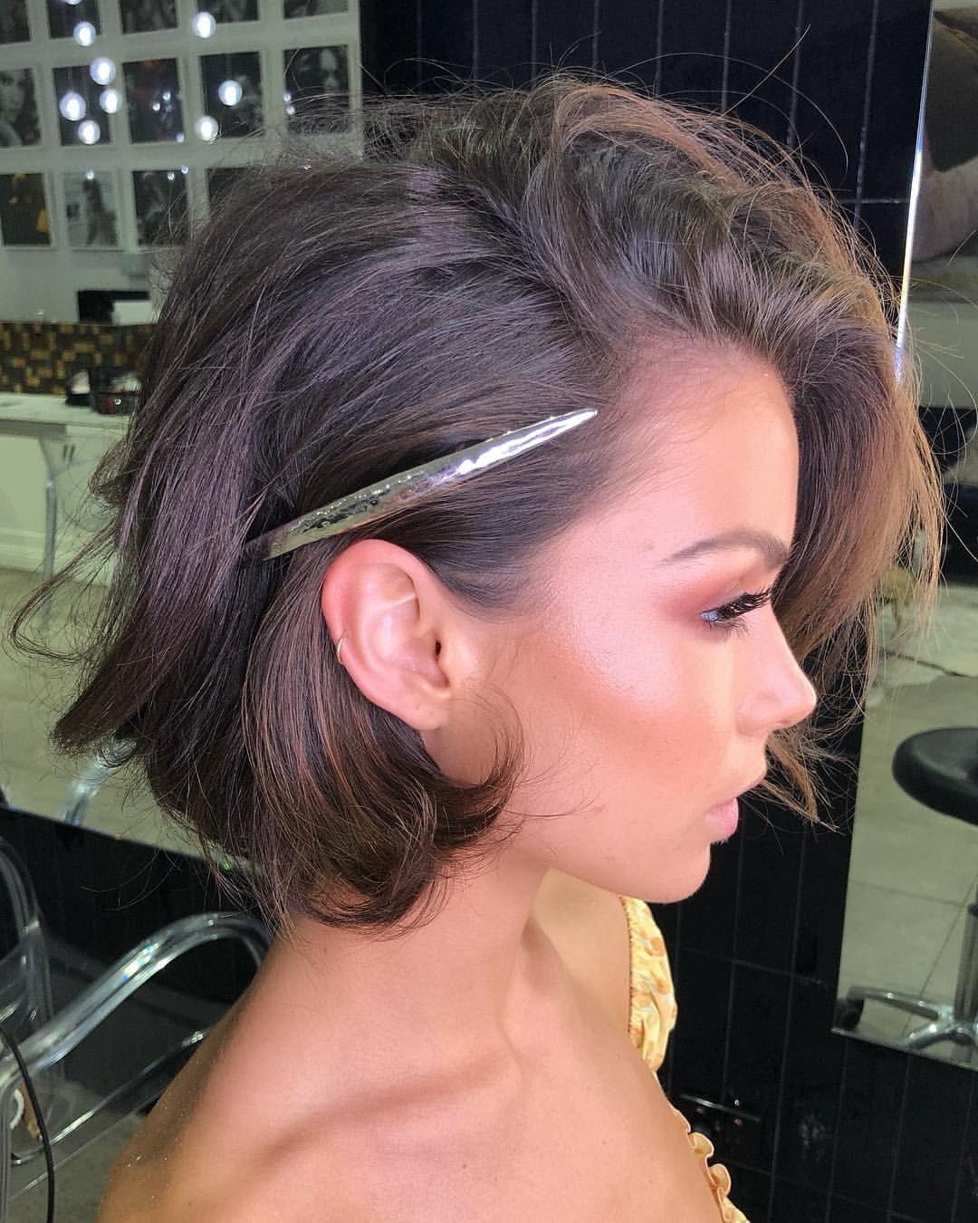 свадебные причёски для коротких волос фото 4