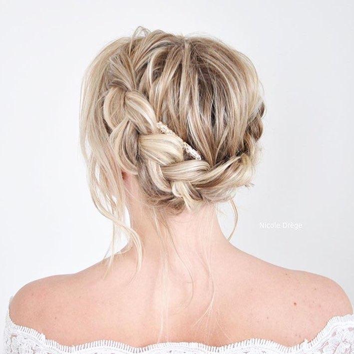свадебные причёски для коротких волос фото 10
