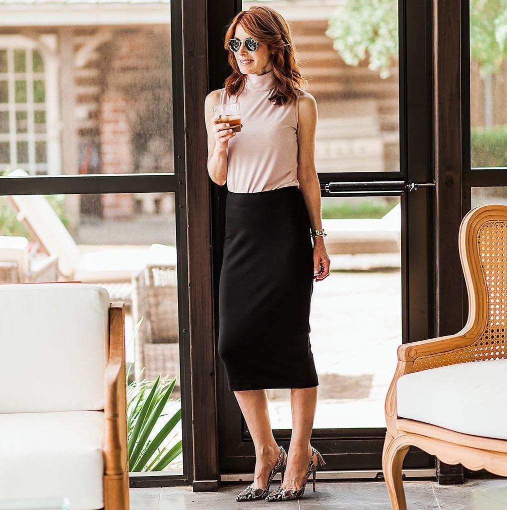 с чем носить юбку летом женщинам после 40 лет фото 10