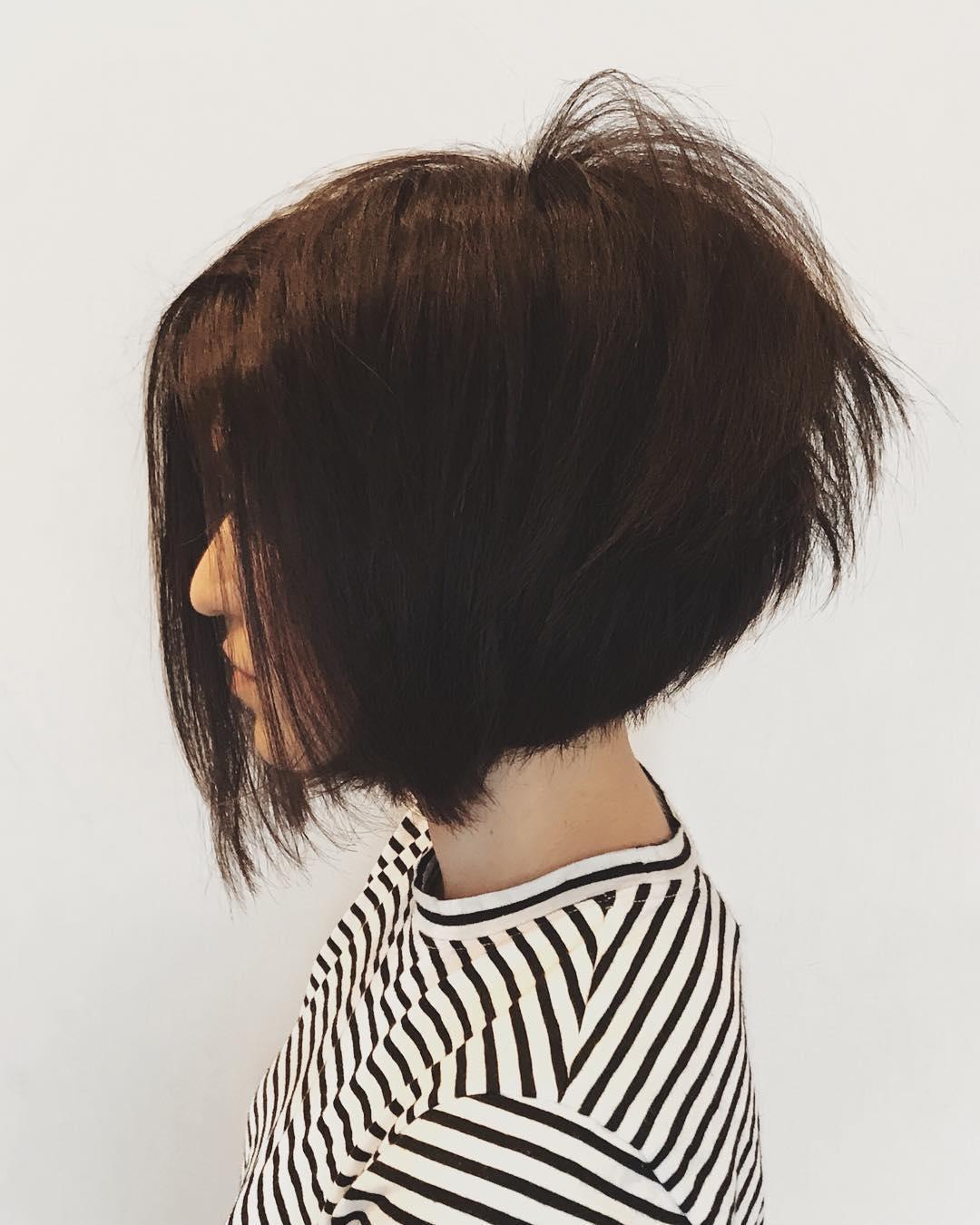 боб для густых волос фото 7