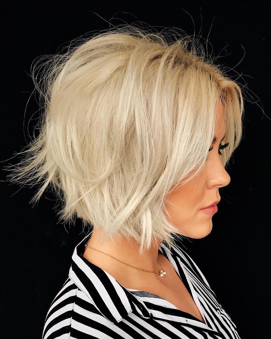 боб для густых волос фото 8