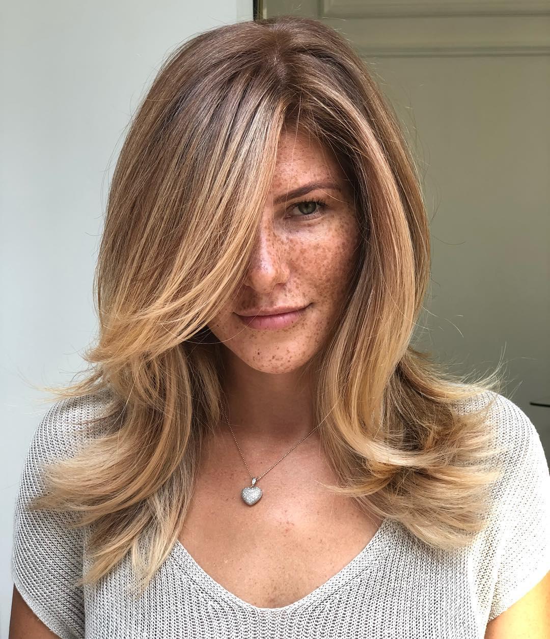 оттенки волос, популярные в 2019 фото 1