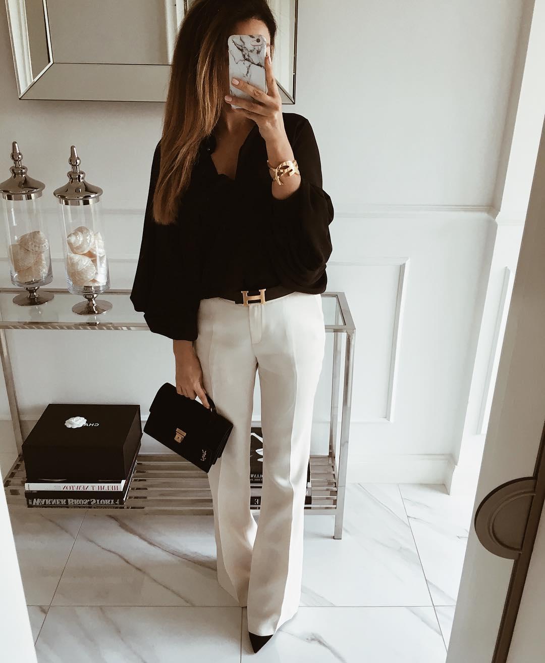 брюки с рубашкой фото 4
