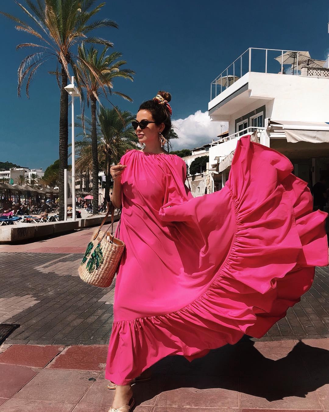 розовое платье фото 15