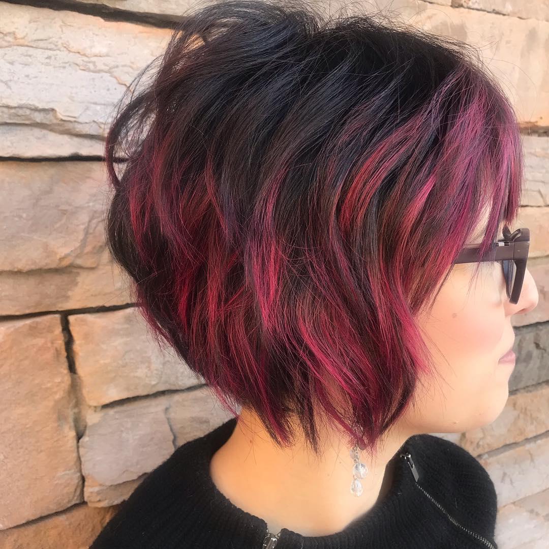 боб для густых волос фото 2