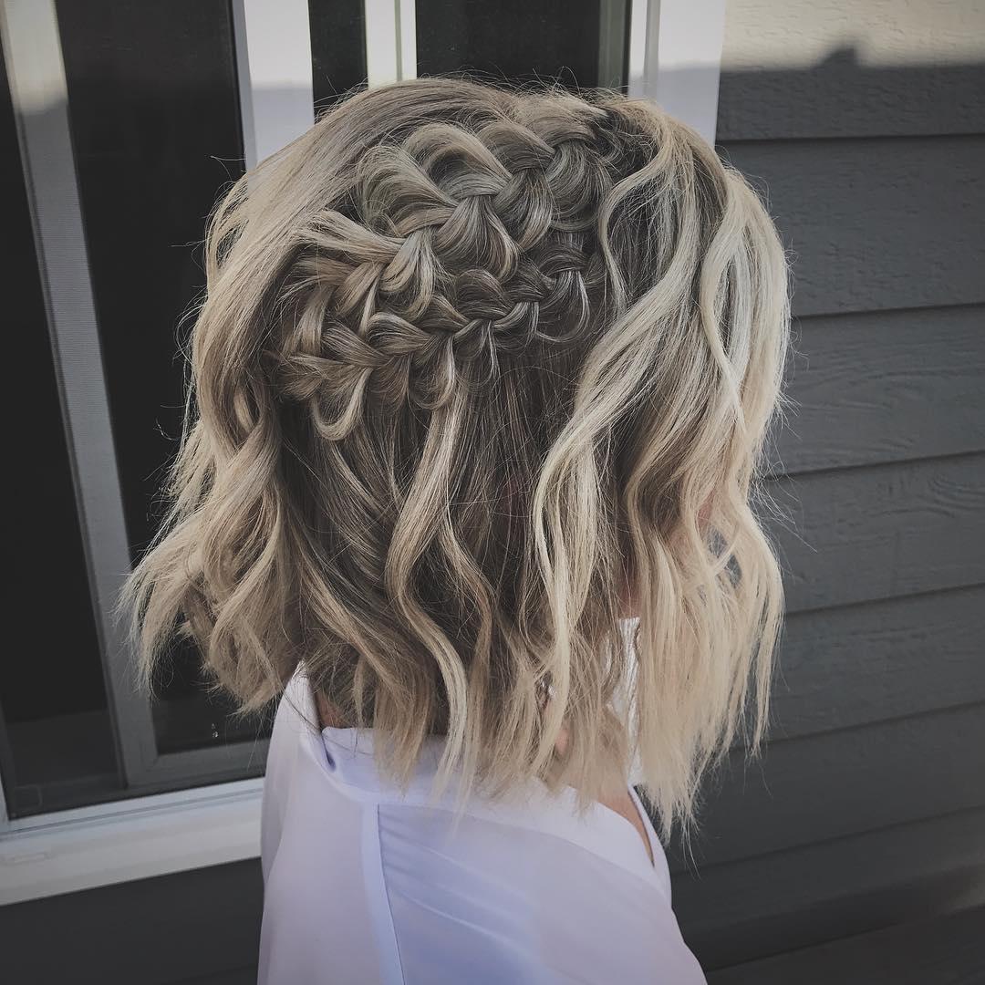 причёски для коротких волос фото 12