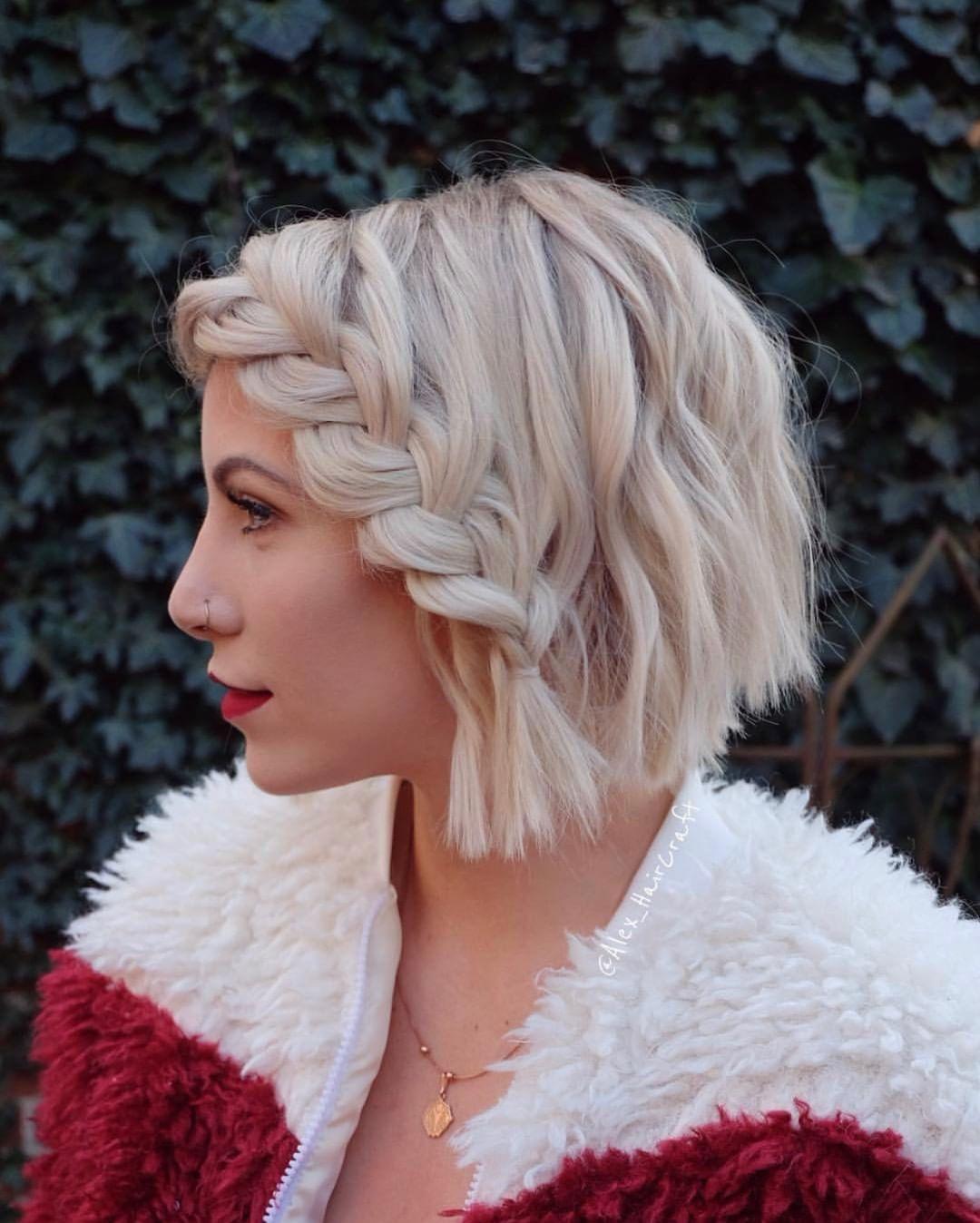 причёски для коротких волос фото 13