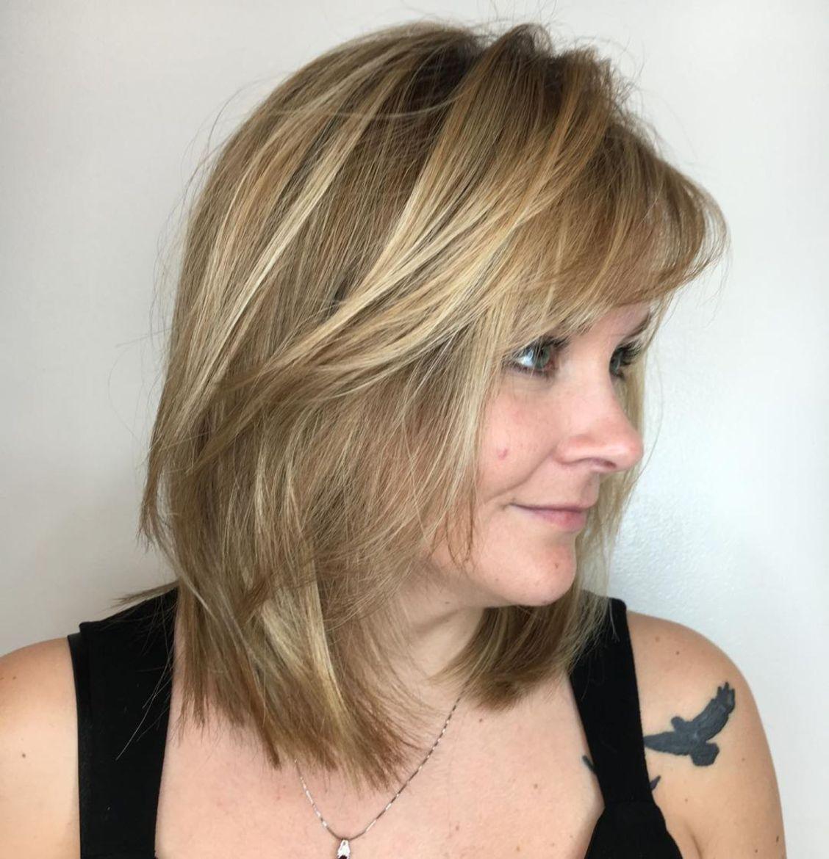 причёски с чёлкой для женщин после 50 фото 4