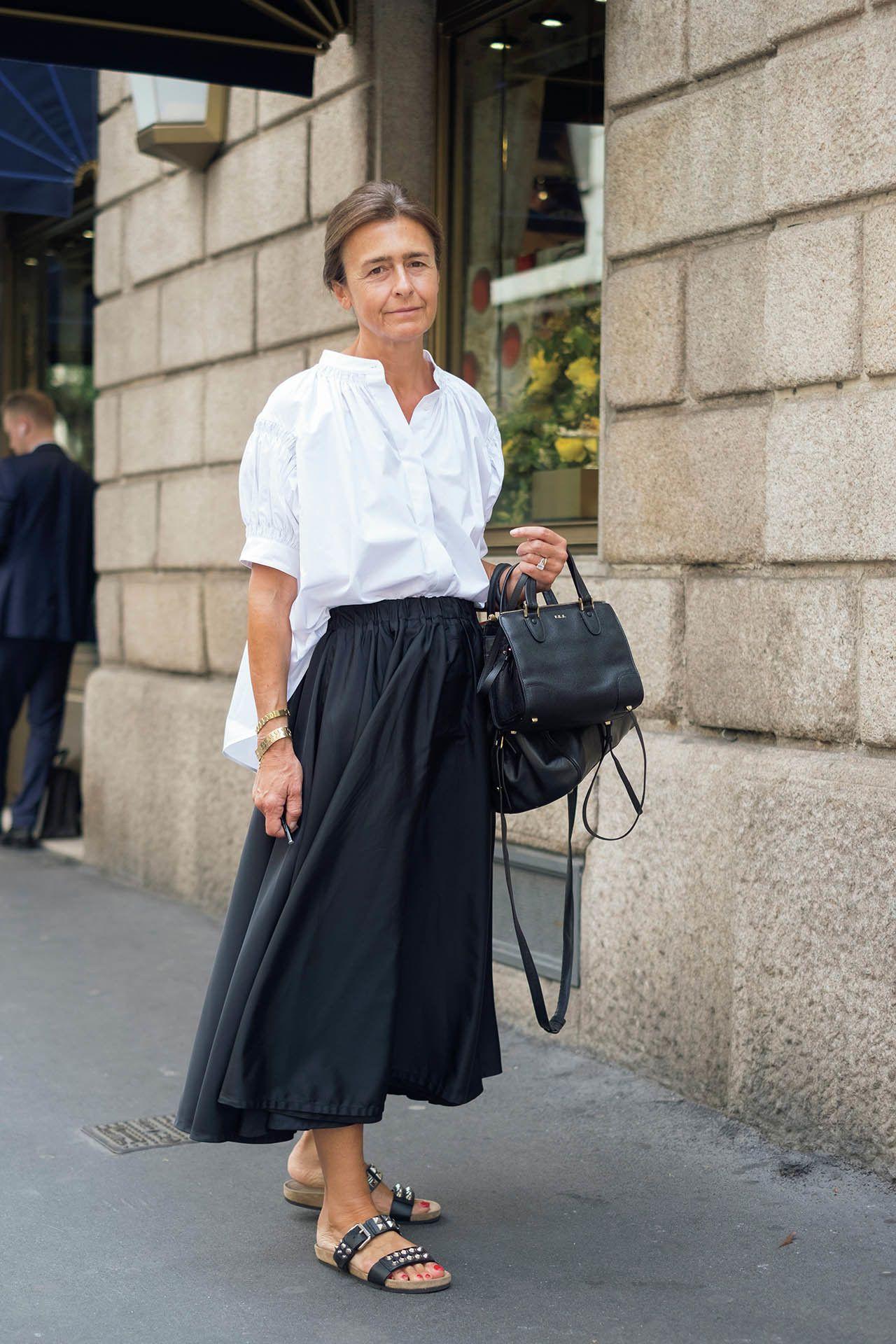 с чем носить юбку летом женщинам после 40 лет фото 9