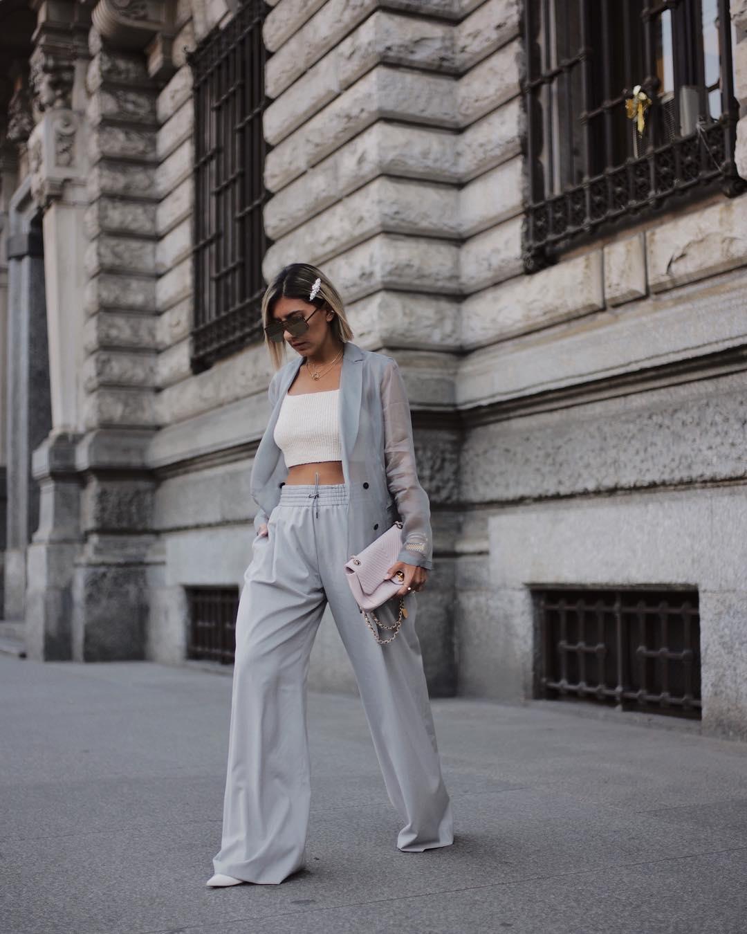 брюки клеш 2019 фото 8