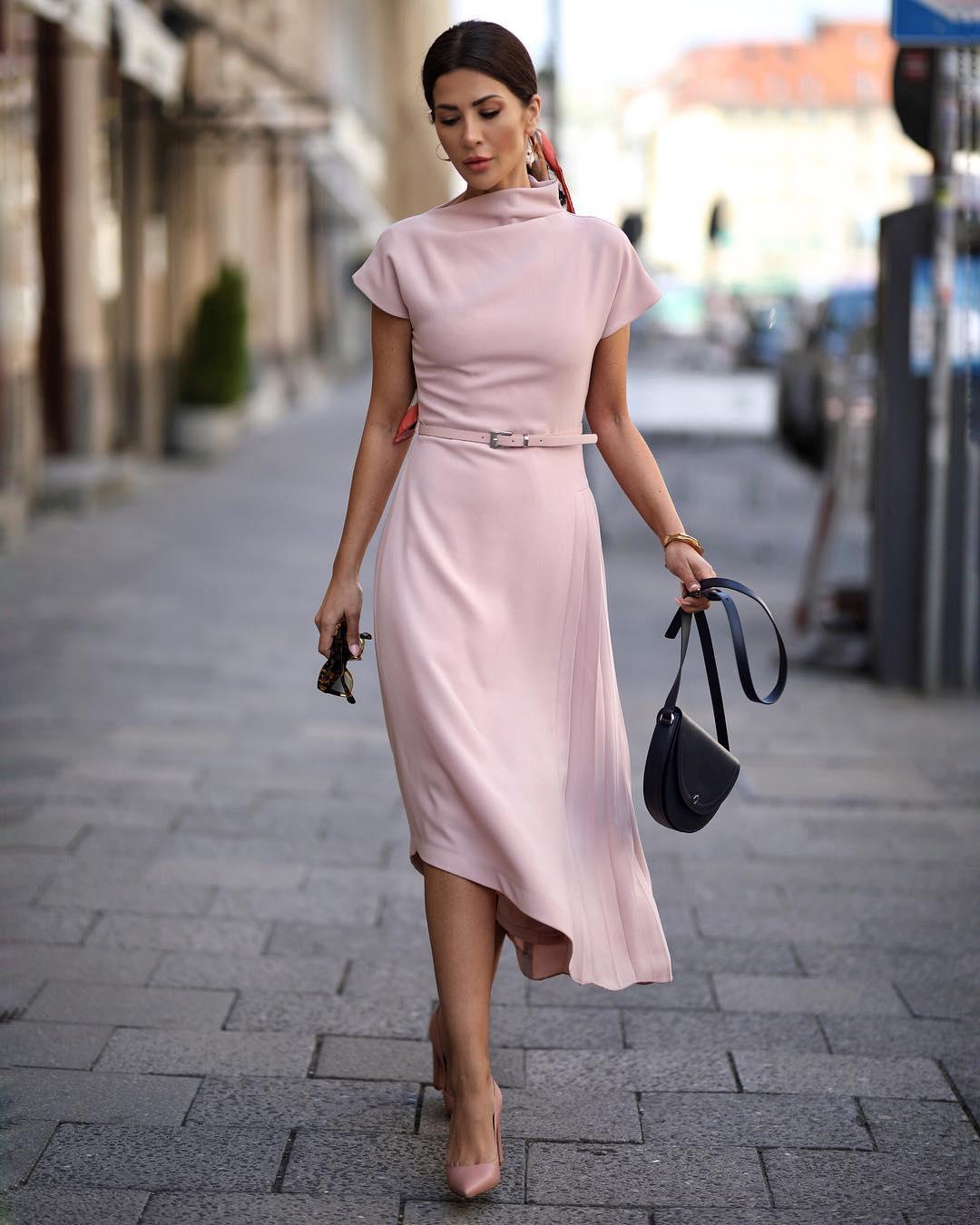 розовое платье фото 12