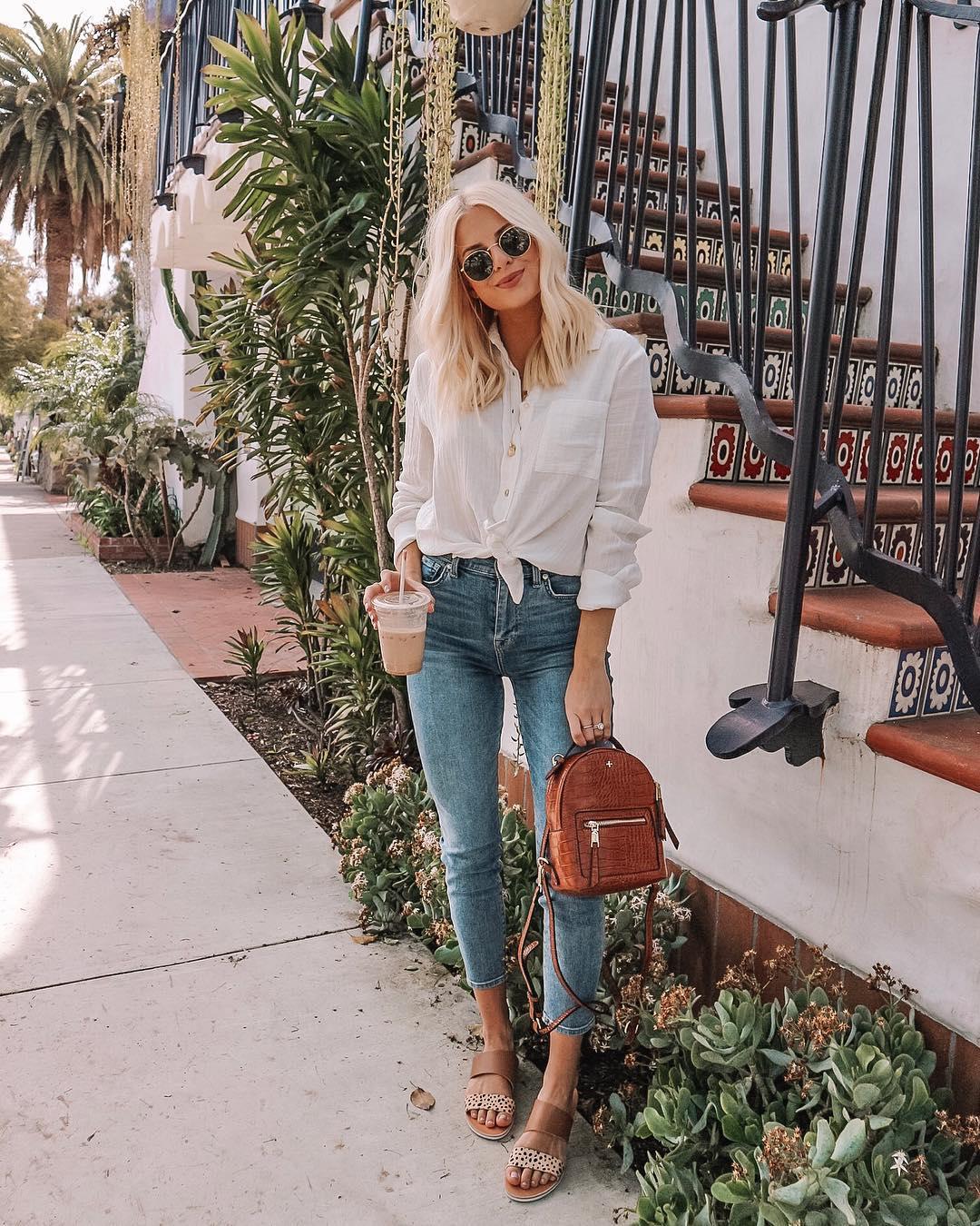 С чем носить джинсы летом фото 9