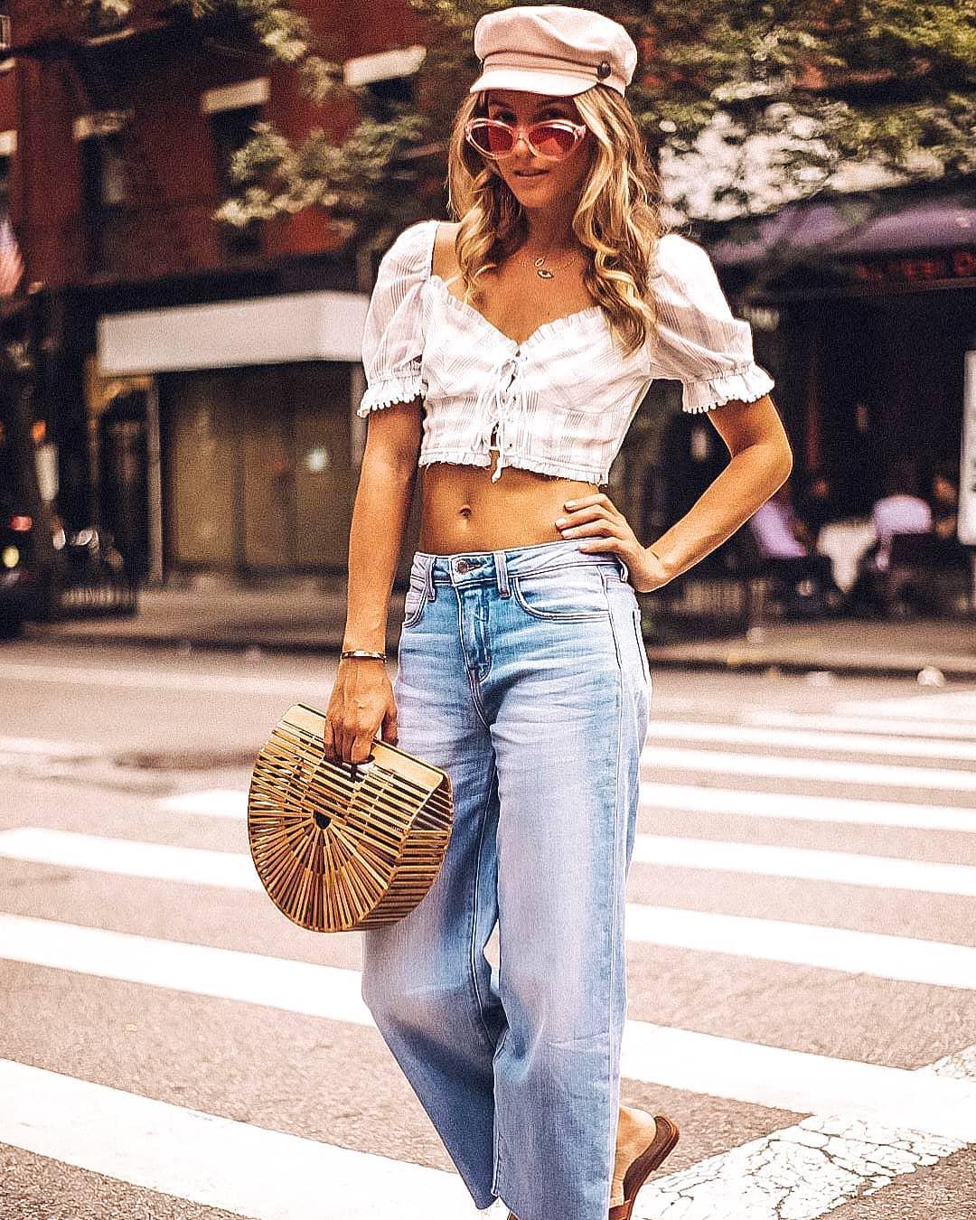 С чем носить джинсы летом фото 2
