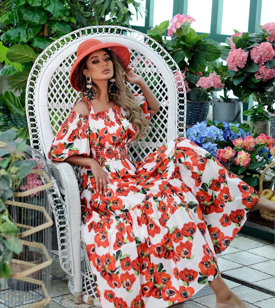 Летнее платье в по фото 4