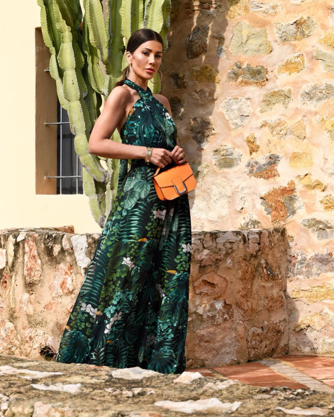 зеленый сарафан фото 1