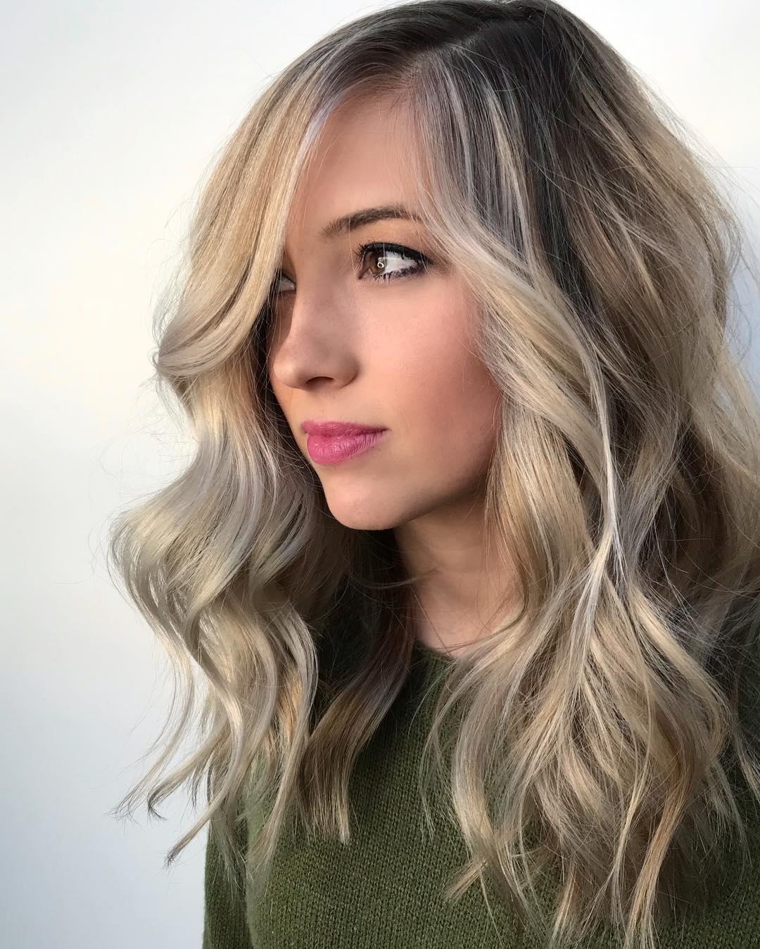оттенки волос, популярные в 2019 фото 13