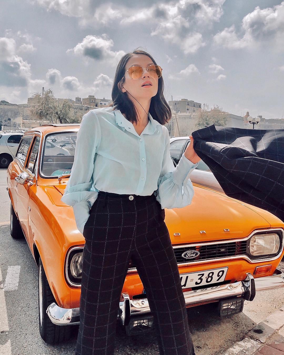 С чем носить брюки 2019 фото 11