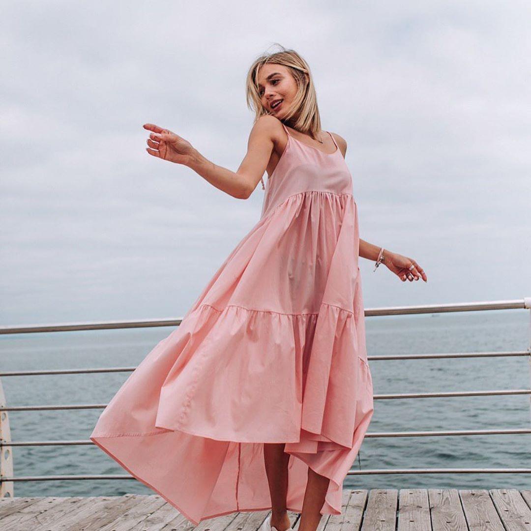 розовое платье фото 2