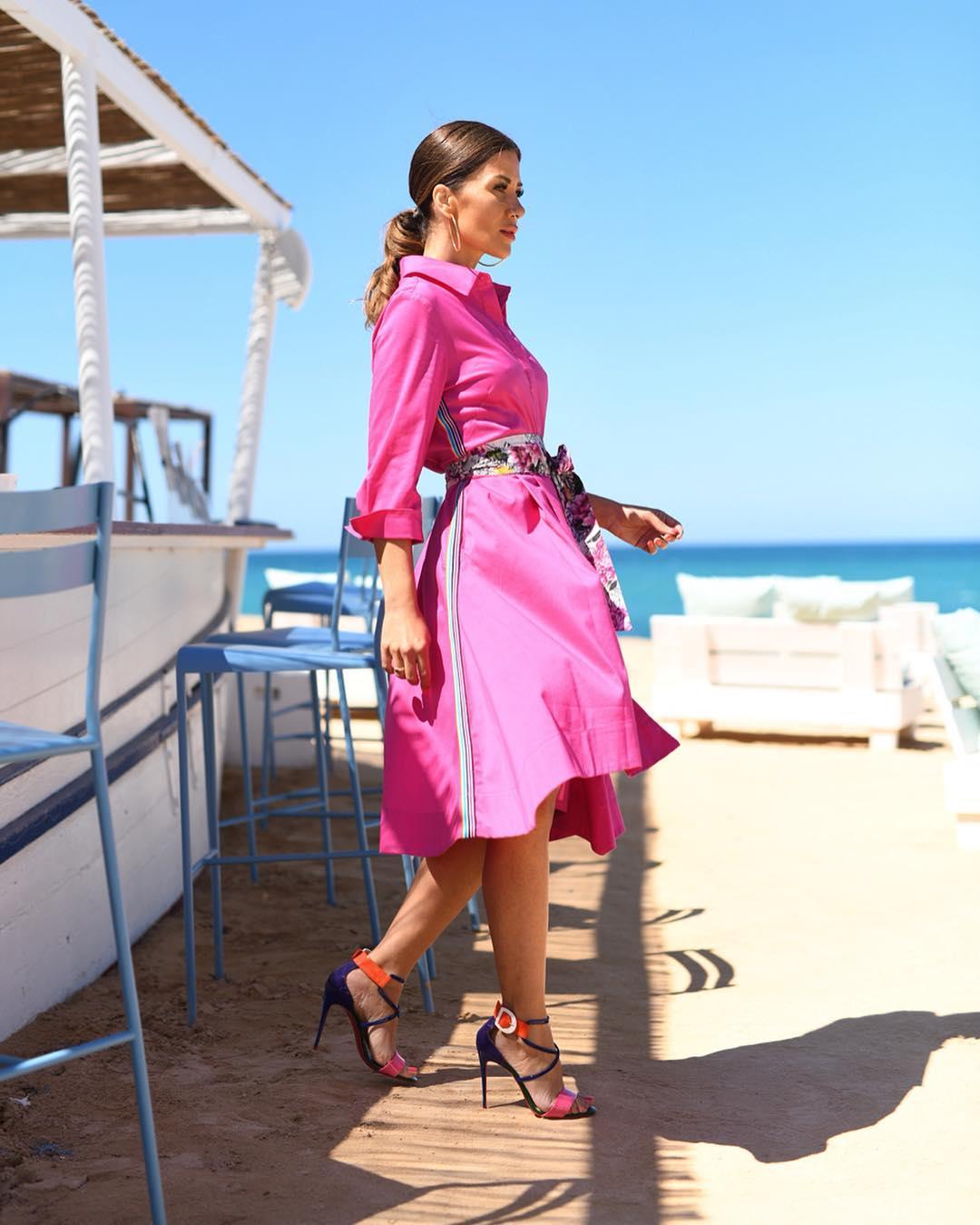 розовое платье фото 13