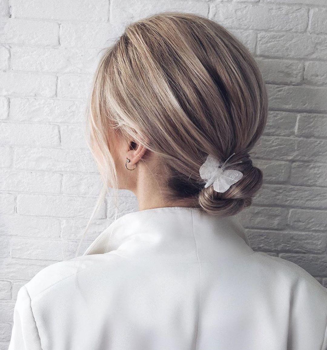 свадебные причёски для коротких волос фото 12
