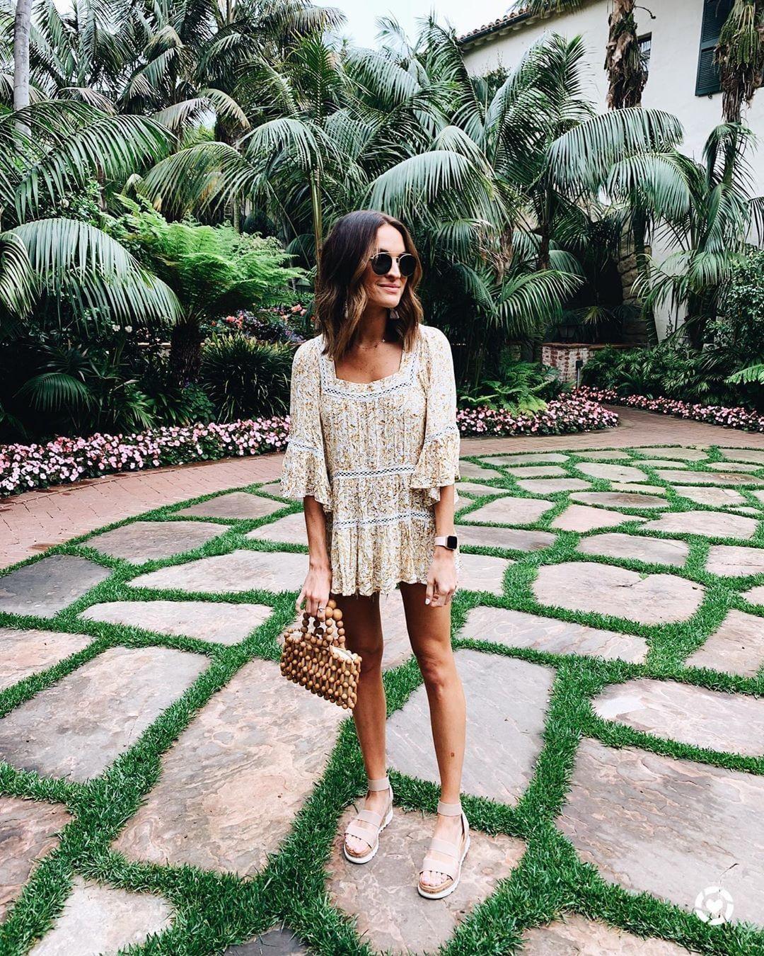 летнее платье с рукавами фото 16