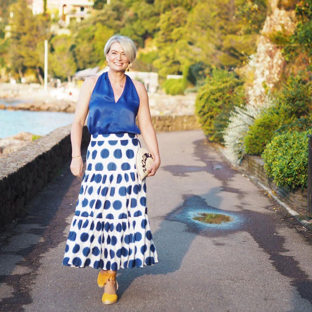 с чем носить юбку летом женщинам после 40 лет фото 3