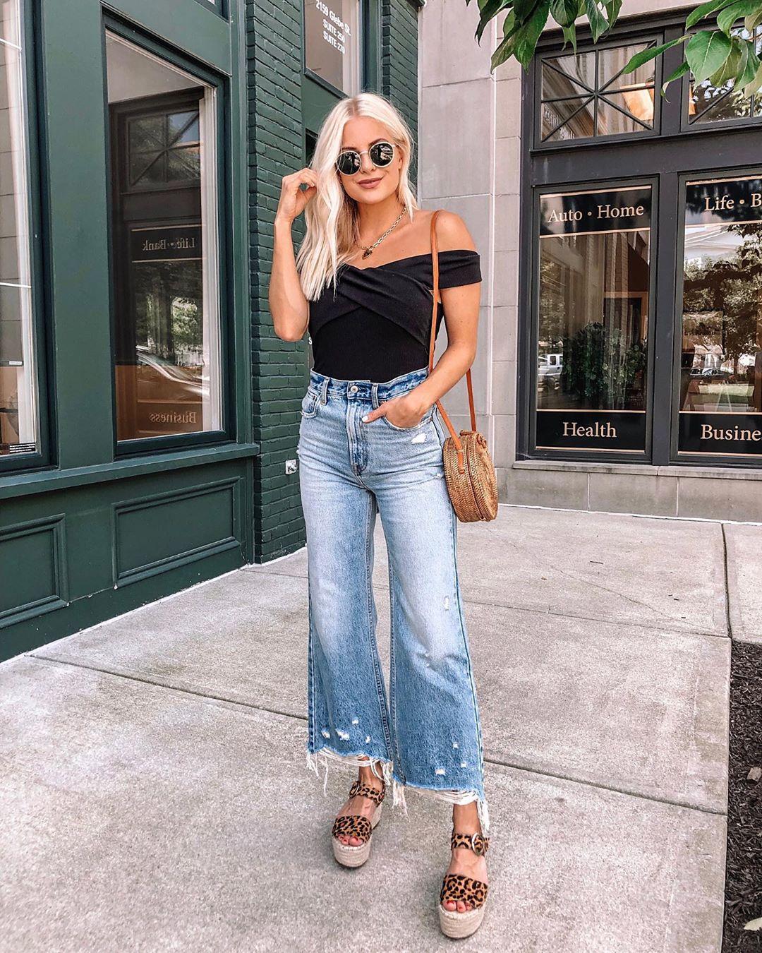 С чем носить джинсы летом фото 10