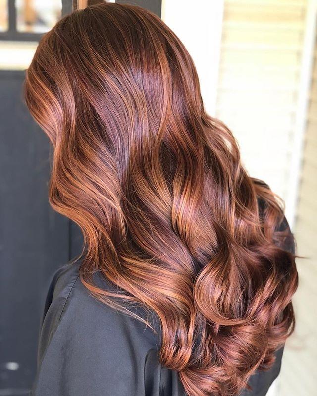 Каштановый цвет волос фото 1