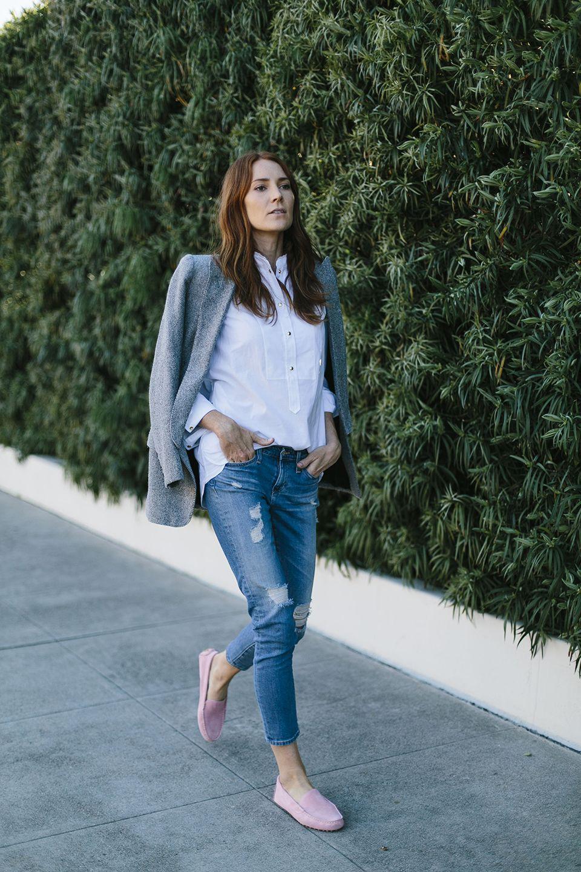 Мокасины с джинсами фото 2