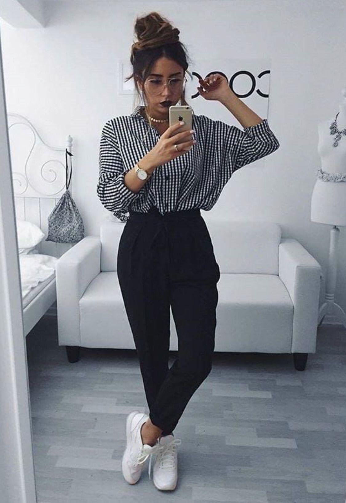 С чем носить брюки 2019 фото 10
