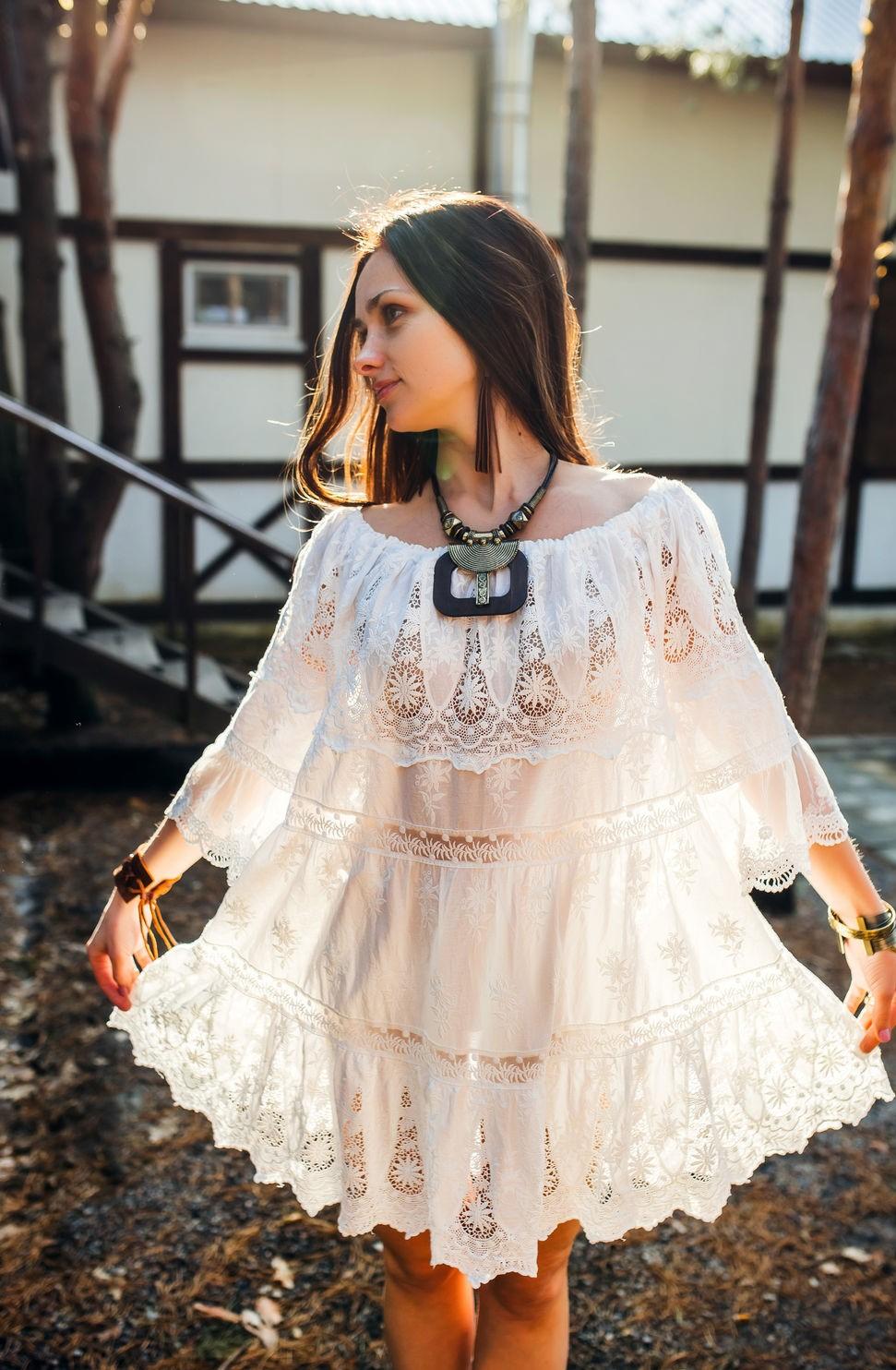 Летние платья в стиле бохо фото 14