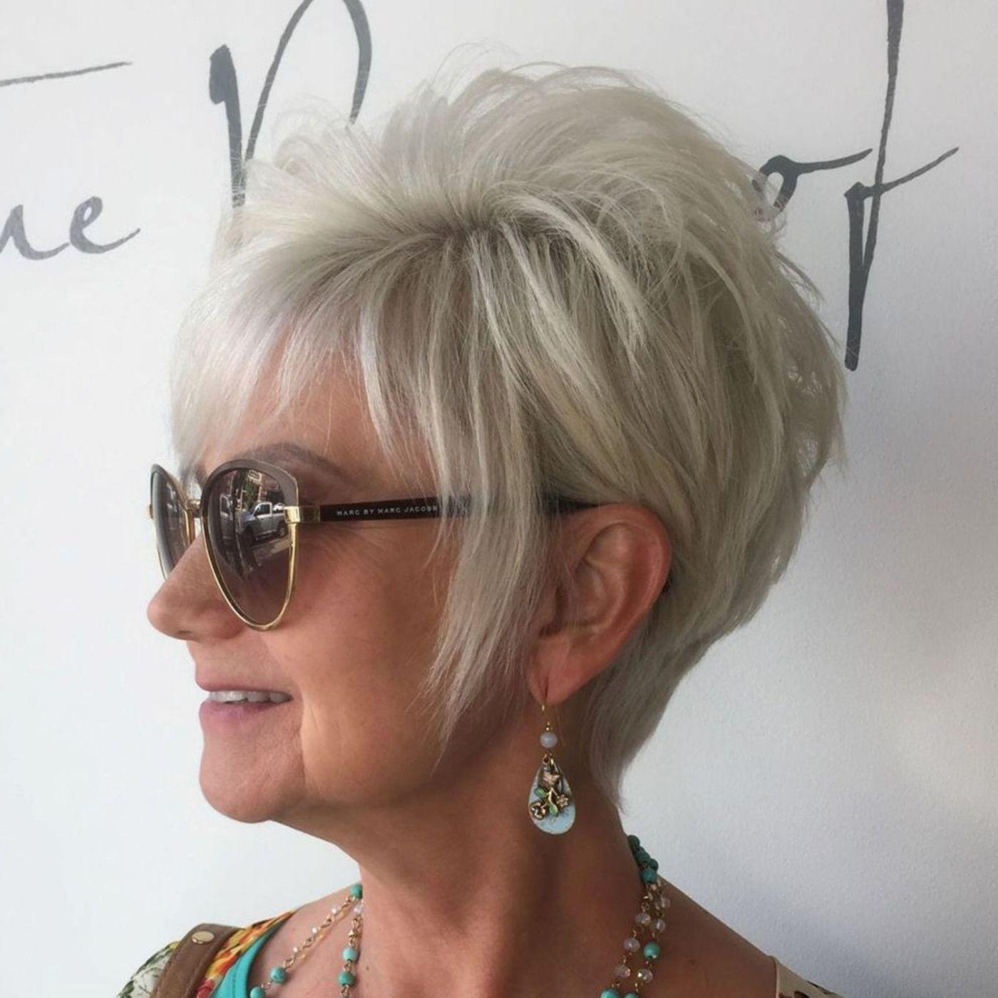 короткие стрижки для тонких волос фото 9