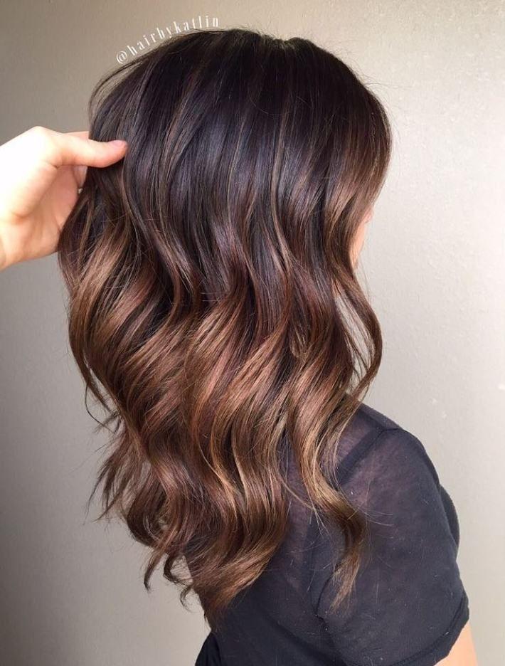 Каштановый цвет волос фото 2
