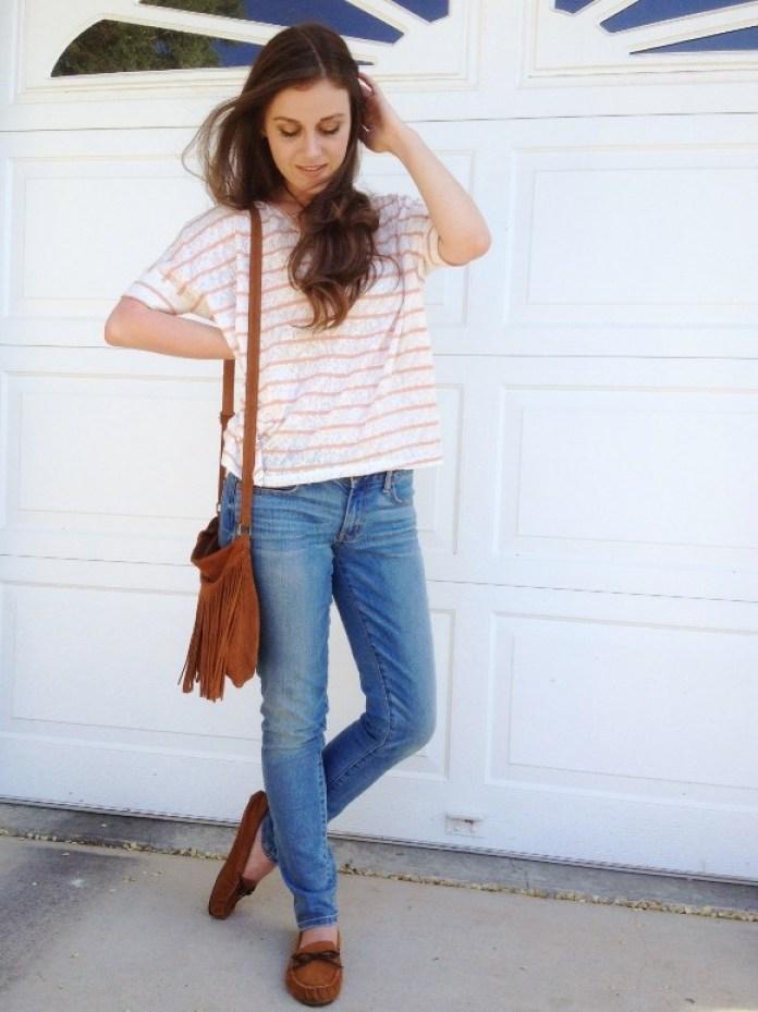 Мокасины с джинсами фото 3